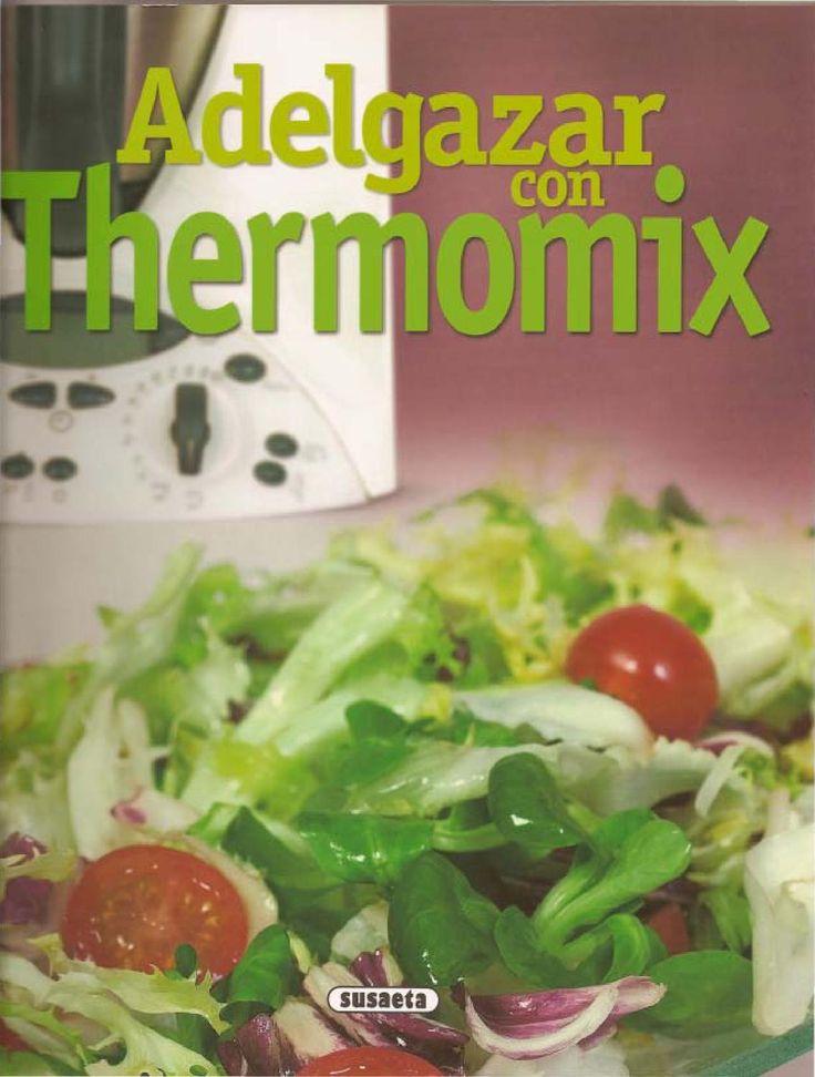 Adelgazar con Thermomix Libro de cocina