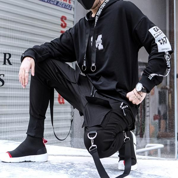 Yukio Hishika Origins Tactical Joggers Tacticalstreetwear Koreanstreetfashion Tactical Wear Street Wear Urban Streetwear Fashion