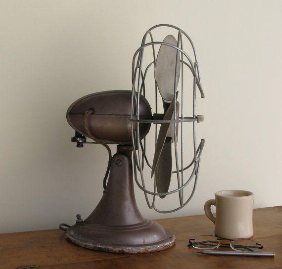 MidCentury Fan   Westinghouse  Industrial Decor