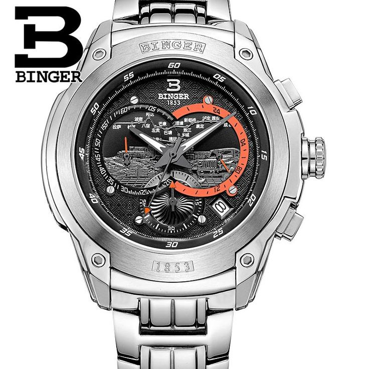 Switzerland men's watch luxury brand Wristwatches BINGER Quartz watch full stainless steel Chronograph Diver glowwatch B6013-2   Tag a friend who would love this!   FREE Shipping Worldwide   Get it here ---> https://shoppingafter.com/products/switzerland-mens-watch-luxury-brand-wristwatches-binger-quartz-watch-full-stainless-steel-chronograph-diver-glowwatch-b6013-2/
