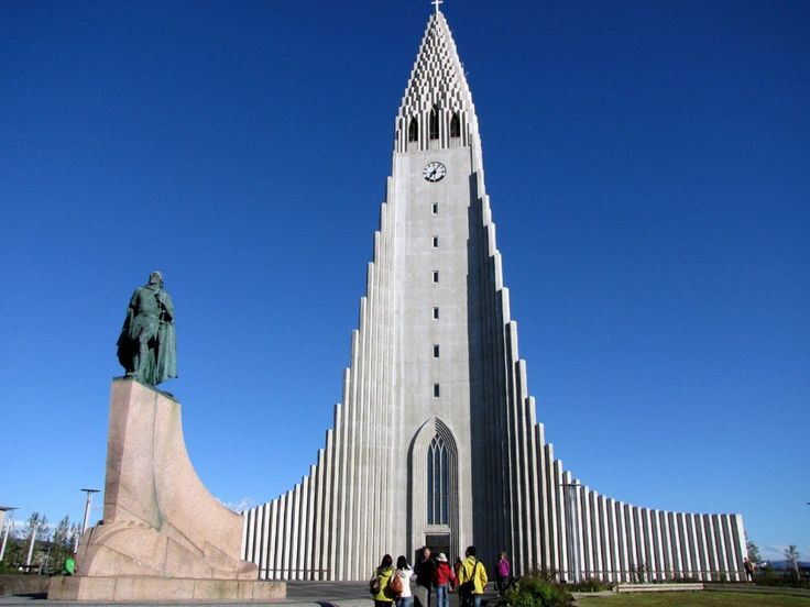 Reykjavik: cattedrale Hallgrimskirkja
