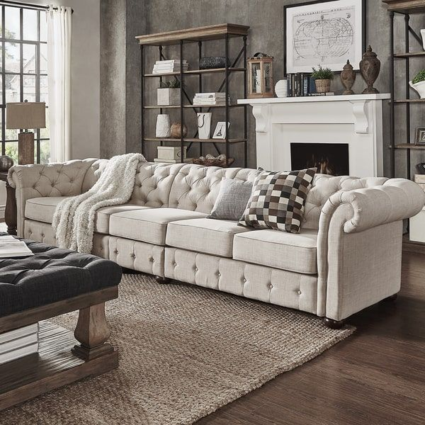 Best 25 chesterfield ideas on pinterest chesterfield sofas chesterfield l - Canape chesterfield beige ...