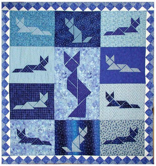 tangram quilts - Google Search