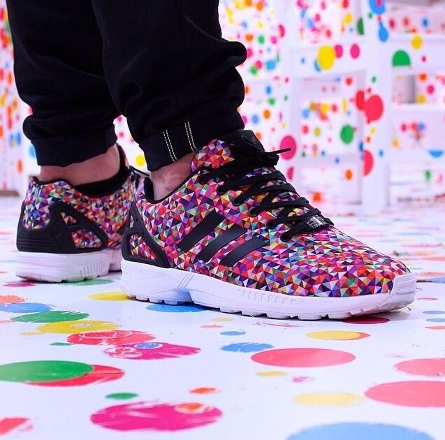 Adidas zx flux - prism / multicolor