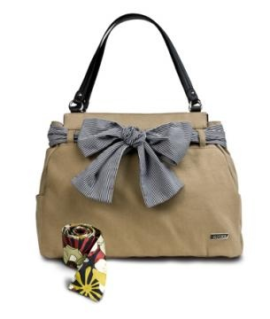 Purse shopping - I like the option to change the bow once in a while...
