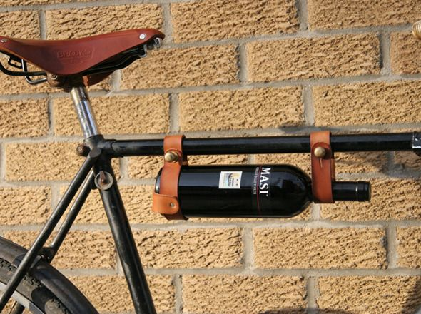 Bicycle Wine Rack at CycleStyle