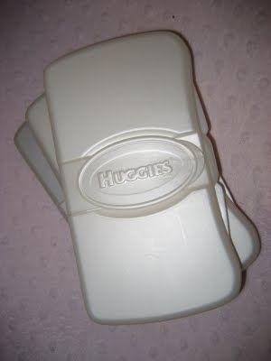 Diaper Wipes Case Tutorial
