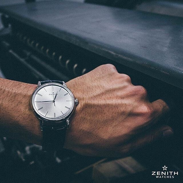 The Zenith - Elite 6150 is elegant and has a perfectly balanced vintage look. Its automatic movement runs one of my favorite watches. The legendary brand @zenithwatches - brings the classic look in a modern era. Photo credit: @zenithwatches See this Instagram photo by @mywatchsquare • 20 likes