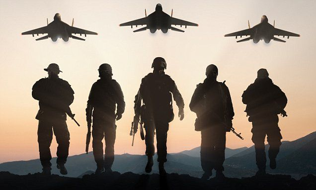 The US Air Force, Marine Corps, Navy and other special forces are looking to improve troops' performance by looking at their bodies at a genetic level, according to a new report (stock image).