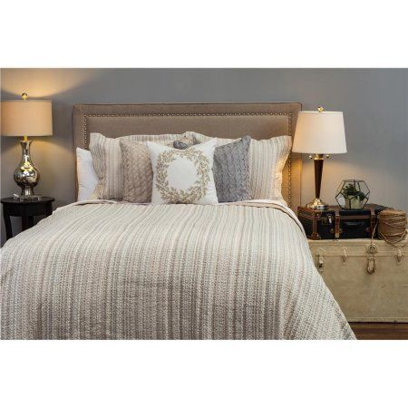 rizzy home matelass ivory bedding sham 20 inch x 26 inch beige