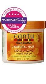 Cantu Shea Butter Moisturizing Twist & Lock Gel - NaturallyCurly