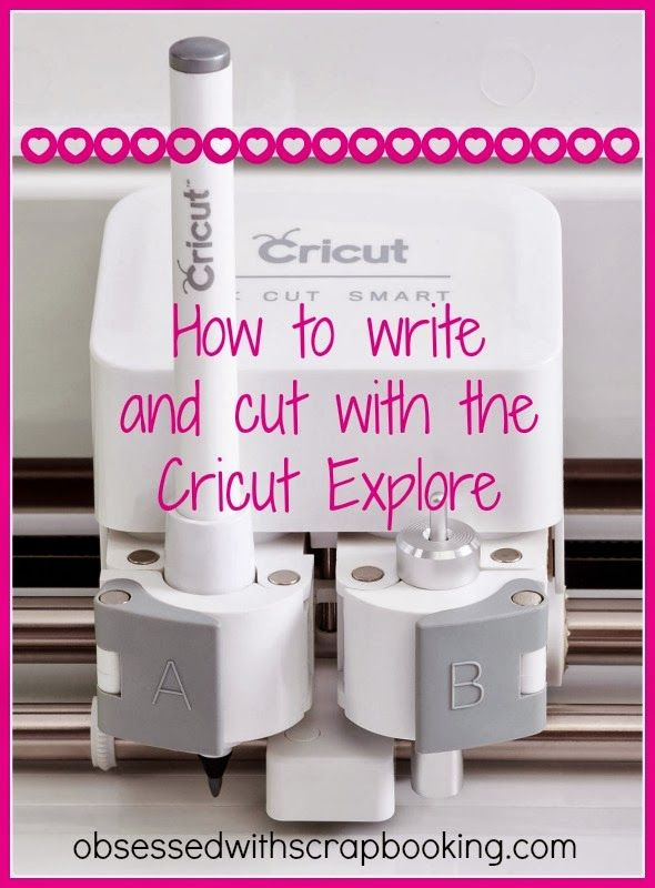[Video]Cricut Explore-How to Write and Cut!