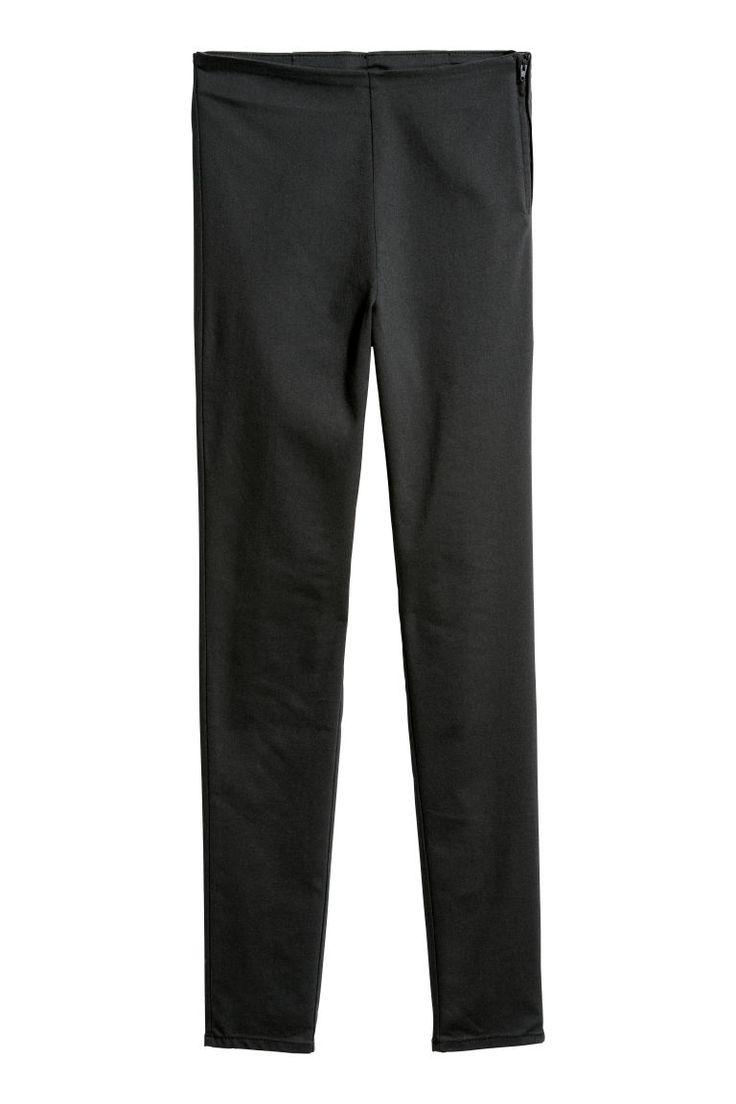 Stretch trousers - Black - Ladies | H&M 1