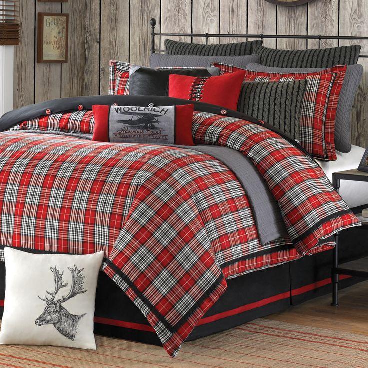 Williamsport Plaid Bed Set - Supernatural Bedding