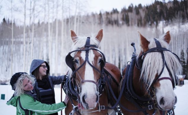 Hop on a horse-drawn sleigh ride in between your four courses of Fireside Dining at Deer Valley, Utah, where lodging and lift discounts of 15 percent start on February 22 and discounts of 20 percent start on March 29. (From: America's Most Beautiful (and Affordable!) Ski Resorts)