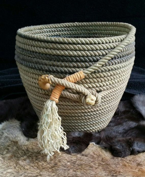 34 Fantastic Diy Home Decor Ideas With Rope: 25+ Best Ideas About Rope Crafts On Pinterest