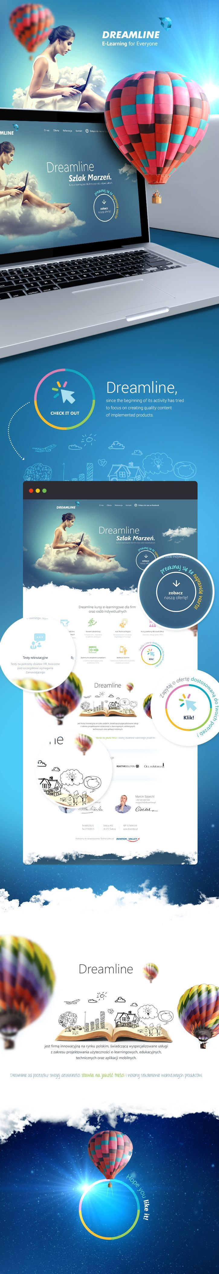 Dreamline | #webdesign #it #web