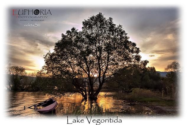 Lake Vegoritida by violetaS_gr PRO(www.euphoriaphotography.com.au), via Flickr