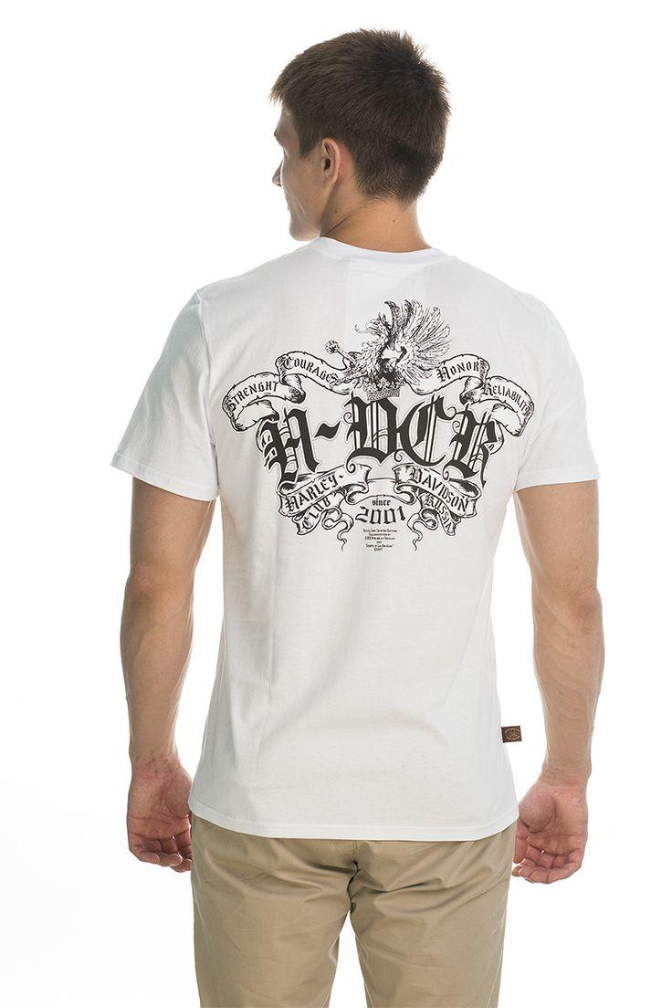 T-shirt HDCR; white.