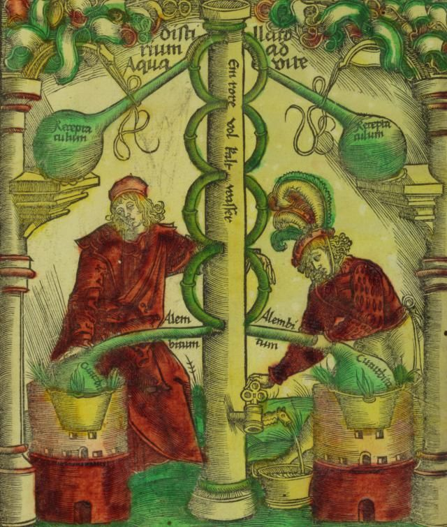 A mixture of science, philosophy and mysticism, medieval alchemy was a precursor to chemistry, and medieval alchemists accomplished some important scientific advances.