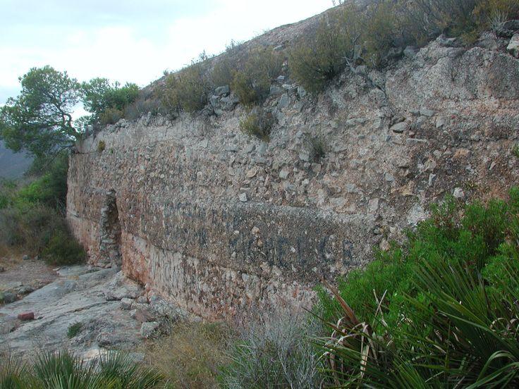 Aljub de l'albacar del Castell de Montornés