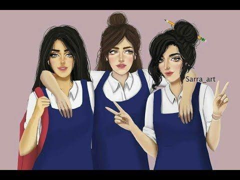 شخصيتك بالمدرسة حسب شهر ميلادك أنا شهر 5 وأنتوا Youtube Girly M Cute Girl Drawing Bff Drawings