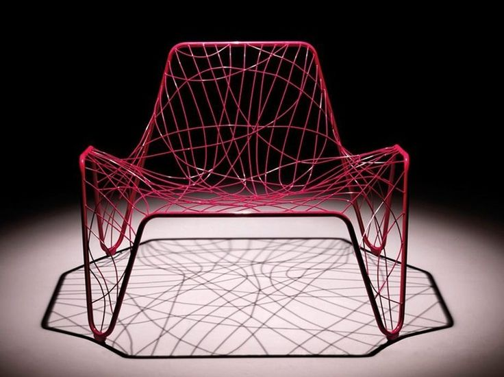 sièges, armature filaire, Fabrizio Batoni, fauteuil Aria,