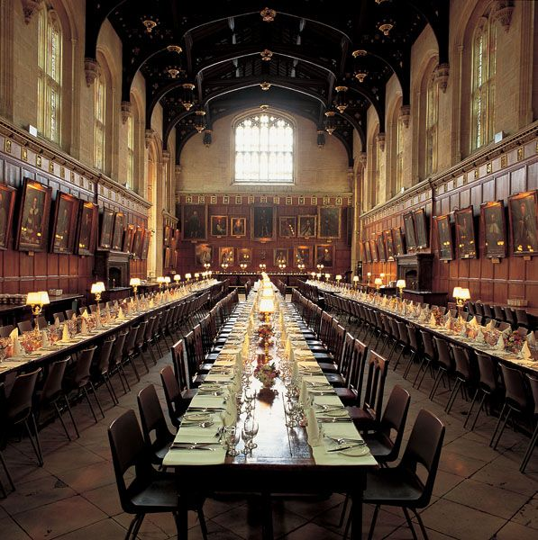 Hogwarts dining hall ha ha the similarities new - Interior design colleges in london ...