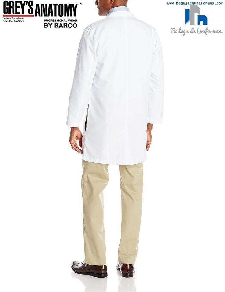 Grey's Anatomy by Barco 0914-10 Bata Medica - BODEGA DE UNIFORMES: DICKIES| CHEROKEE| GREY'S ANATOMY| HEARTSOUL| CODE HAPPY|IGUANAMED| SLOGGERS