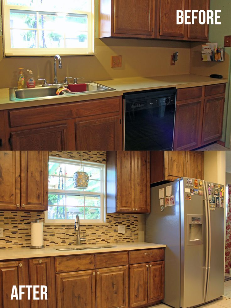 Remodeled Kitchens Before And After Decoration Image Review