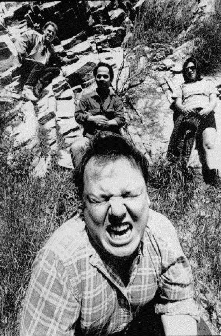 Pixies (Frank Black, Kim Deal, David Lovering & Joey Santiago).