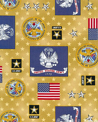 Patriots 5 - United States Army Celebration - Gold