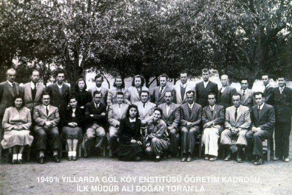 Hasanoğlan, Gölköy Köy Enstitüsü Öğrencileri