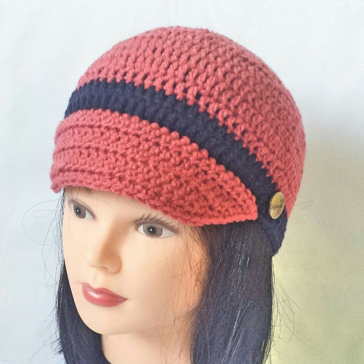New newsboy style women hat coming to my shop in this beautiful rust red color. Perfect color and fashion for this fall season.