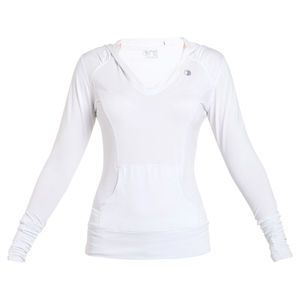 ONE active by Michelle Bridges Hooded Top - Sizes 8-16. A flattering style that is both cool and comfortable to wear.