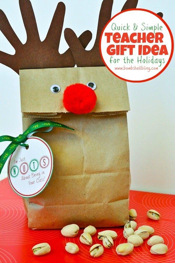 christmas ideas for kids - teacher christmas gift idea