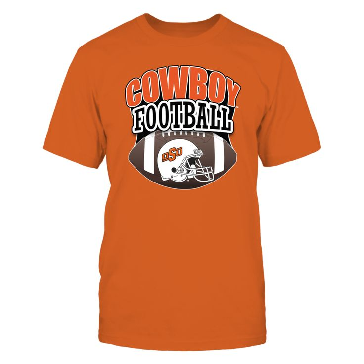 Oklahoma State Football - It's Big 12 Football Time T-Shirt, Okla State University Football Fan Gear Find your Okla State football schedule and get your OSU football shirt for the game. No matter where I lay my head I'll always be an Oklahoma State Cowboy fan! OSU Cowboy football shirts for the ultimate OSU football fan where ever they live. Get your... The Oklahoma State Cowboys Collection, OFFICIAL MERCHANDISE  Available Products:          Gildan Unisex T-Shirt - $24.95 Gildan Women's…