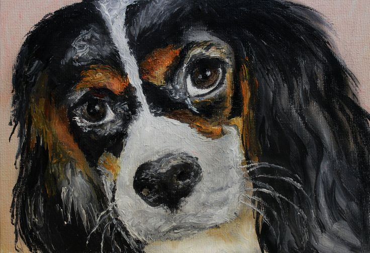 Миниатюра, картина маслом, кавалер кинг чарльз спаниель, oilpainting dog animal cavalier king charles spaniel by teslimovka on Etsy #art #oilpainting #miniature #animal #nature #dog #doggi #cavalierkingcharles #spaniel #масло #картина #искусство #спаниэль #спаниель #кавалеркинг #собака #миниатюра #искусство #животное