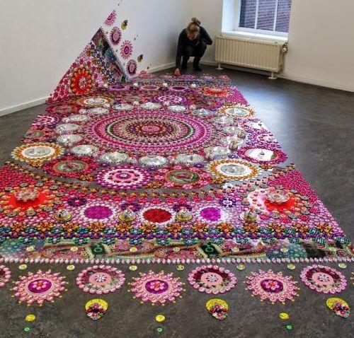 kaleidoscope installation. Suzan Drummen