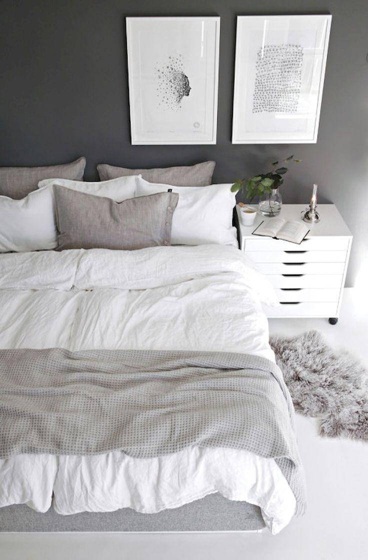 Cool 60 Simple and Elegance Scandinavian Bedroom Designs Trends https://decorapatio.com/2017/06/12/60-simple-elegance-scandinavian-bedroom-designs-trends/