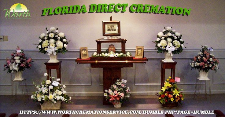 Florida Direct cremation offers an affordable substitute to traditional body burial. Only on https://www.worthcremationservice.com/humble.php?page=Humble