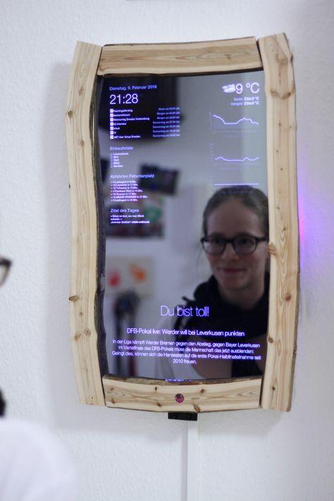 Magic Mirror 2.0 mit Gestensteuerung