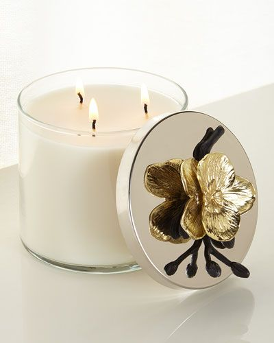 Neiman Marcus orchid candle