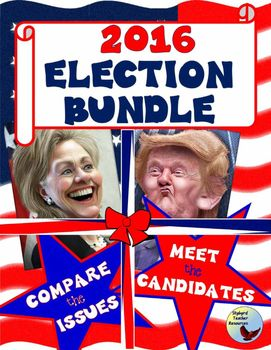 The 2016 Presidential Election is here!  Read biographies of Hillary Clinton and Donald Trump.  Compare and Contrast the issues that are important to your students.  Learn where Hillary Clinton and Donald Trump stand on jobs, the economy, health care, and the environment.