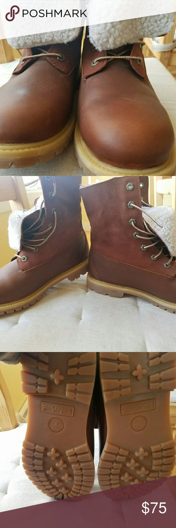 Timberland Earthkeepers Never worn! Timberland boots, size 10 women's, excellent condition. Timberland Shoes Ankle Boots & Booties