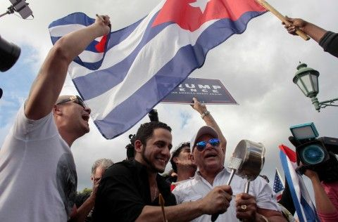 The reaction around the world was divided after the announcement of Cuban dictator Fidel Castro's death.