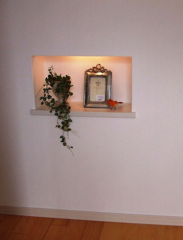 玄関ニッチ hughouse モデルハウス完成! : お客様のお宅訪問