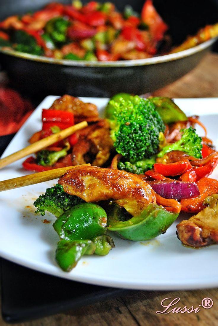 Най-вкусното пиле по китайски / The best Recipe for Chinese chicken with veggies