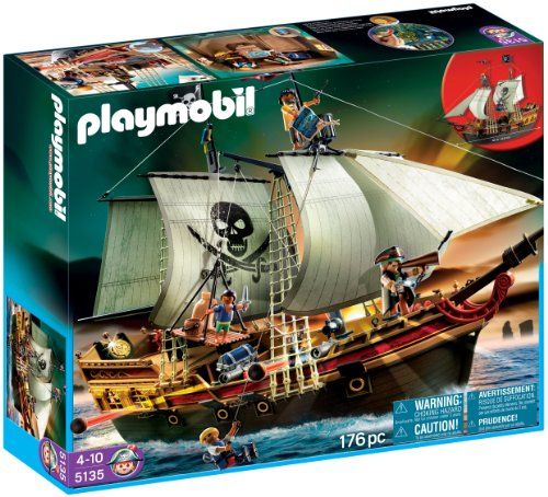 --- DEJA PRIS --- Playmobil - 5135 - Jeu de construction - Bateau d'attaque des pirates Playmobil http://www.amazon.fr/dp/B004P5O8MM/ref=cm_sw_r_pi_dp_6r6iwb0PATB4D