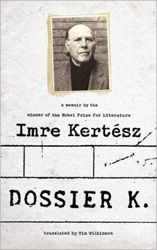 Kertész, the author of a number of novels about his incarceration in Auschwitz and Buchenwald, was awarded the Nobel Prize for Literature in 2002. His latest work is a memoir in the form of an exchange between a fictional interlocutor who asks questions and Kertész, who responds. #memoir